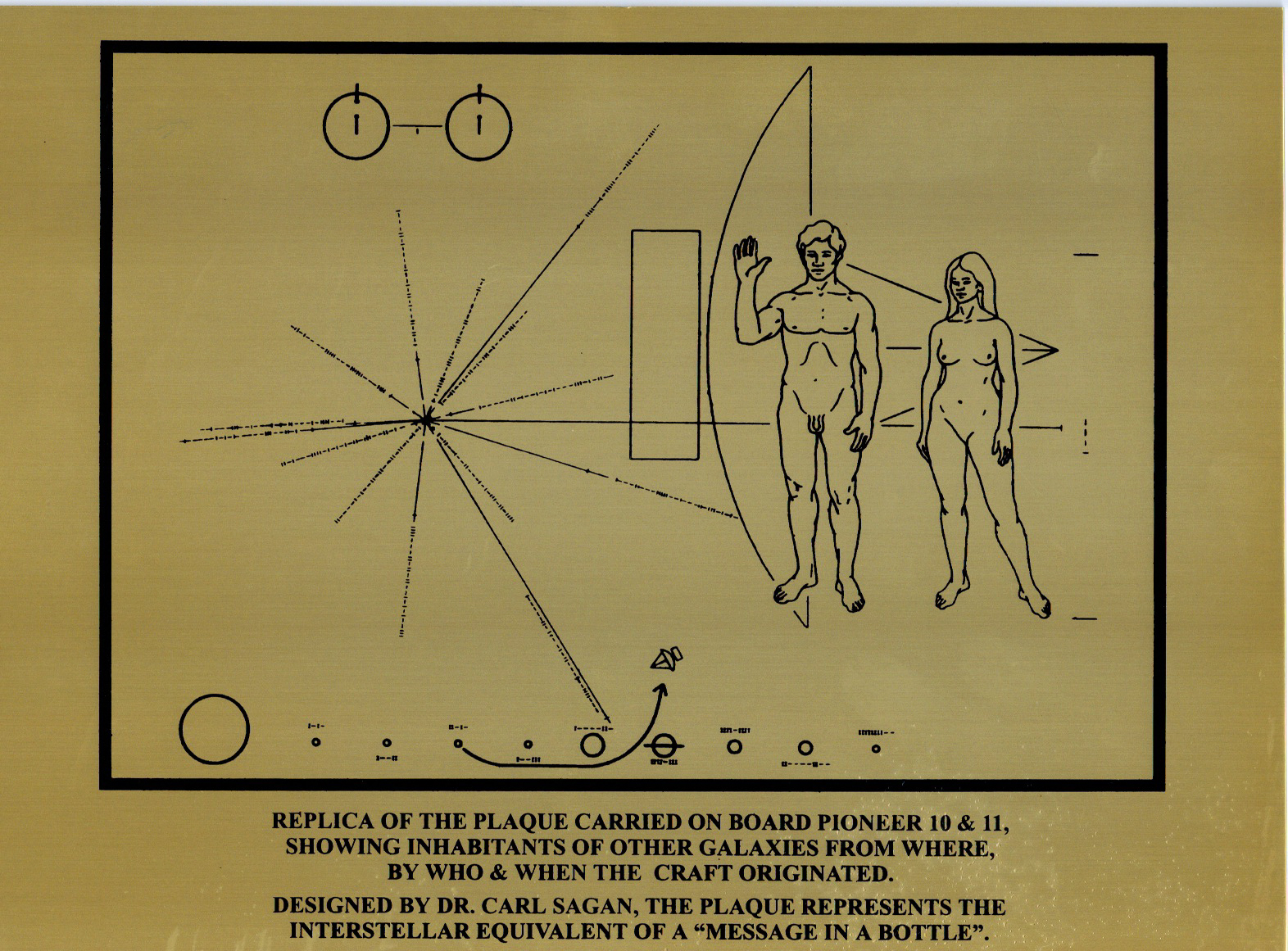 space probe pioneer 10 plaque - photo #7